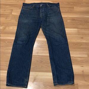 Levi's 501 jeans size 38X34